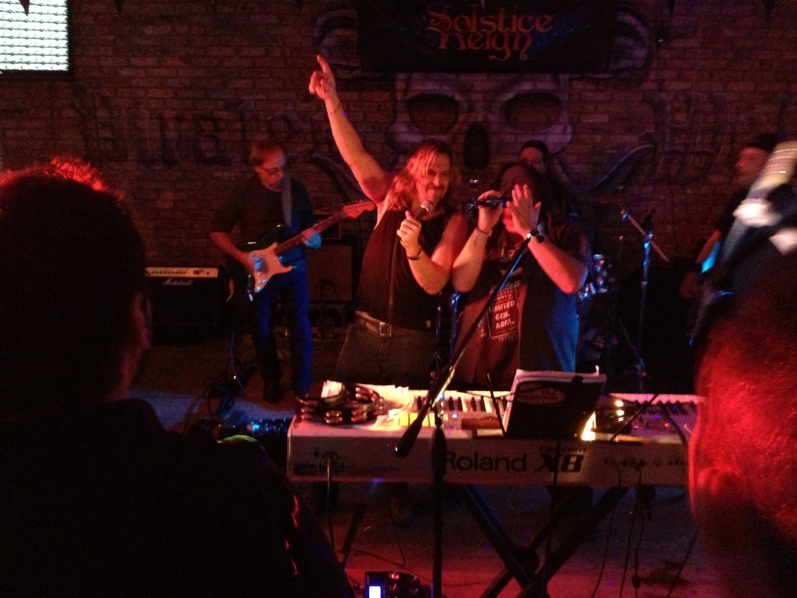 Solstice Reign performing